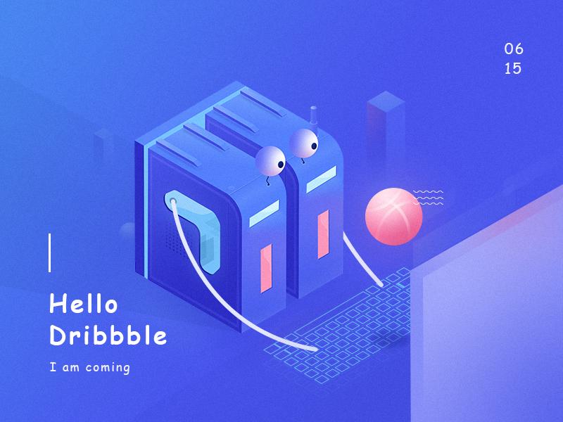Hello,Dribbble