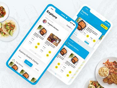 Explore screen - Mumm Redesign Concept ux app arabic ux design ux  ui ux animation ux challenge ui pack ui interaction design