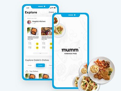 Mumm Redesign Concept ui ux ux  ui ux design ux animation android ux challenge ui pack ui interaction design