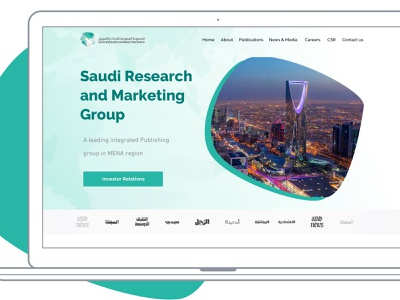 SRMG Website android arabic ux design ux  ui ux animation ux challenge ui pack ui interaction design