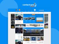 ContactCars Website Redesign UI/UX