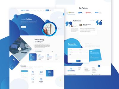 Intertelico Website Design UI/UX