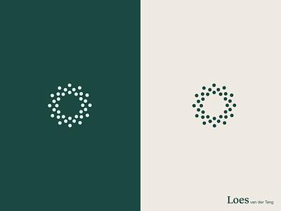 Icon circles minimal green symbol identity mark circles brand logo branding design icon