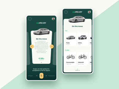 onboarding app - car app - bike app card ui design app design mobile app design mobile app green app green app design green design onboarding app bike app car app