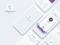 Creative Council App UI