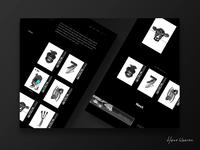 Hans Weeren Minimal Webshop Concept