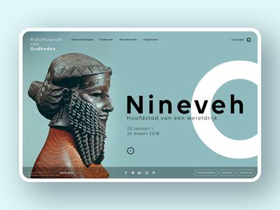 RMO Museum Web concept