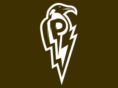 Payback Penguin Lightening  vector graphic mascot logo sports lightening penguin paybackpenguin