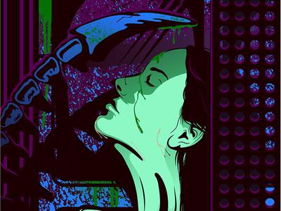 Alien Covenant  blood shower slasher scifi sci fi horror vector poster poster alternative poster vector ridley scott alien