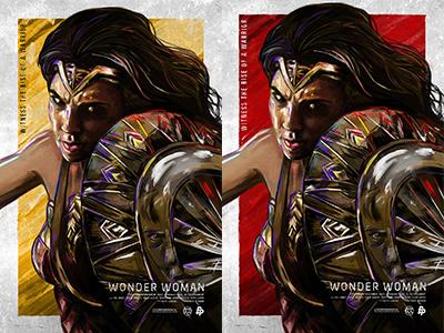 Wonder Woman Day Tribute posterposse shield sword warrior princess heroine female hero woman wonderwoman diana dc