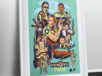 Reno 911 Miami Poster