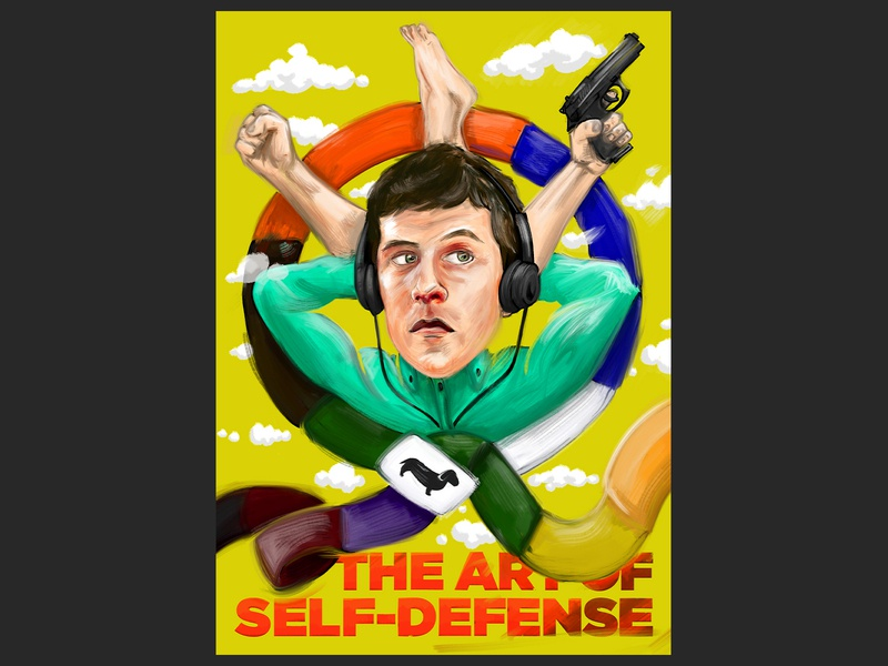 The Art of Self-Defense adobe photoshop illustration illustrator movie art poster movie