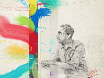 Breakthrough in grey room william burroughs illustration line drawing breakthrough derek bacon colour experiment