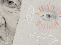 Portrait of David Lynch [detail 1]
