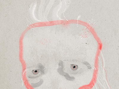 Portrait of David Lynch [detail 2]