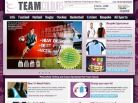 Team colours site