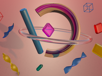 geometry design 3d cinema4d 3d art