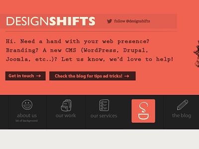 designshifts.com psd desktop website redesign