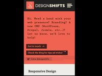 designshifts.com (mobile version)