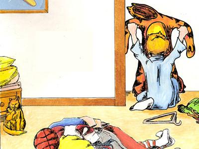 Tiger Story illustration