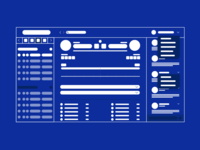 One Page Wireframe Design