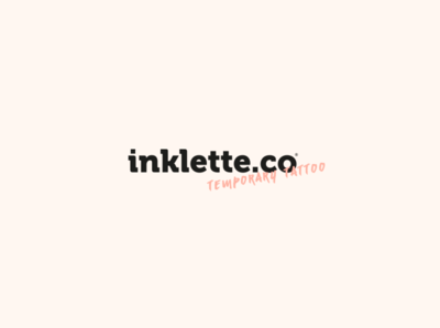 inklette.co Temporary Tattoo | Branding