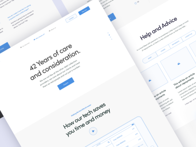 Why Choose Us Landing Page UX