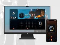 Music app Daft Punk skin