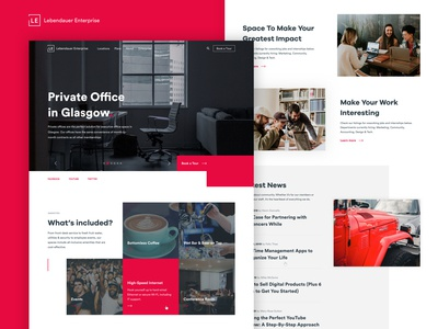 Lebendauer Enterprise - Private Office Page (Coworking)