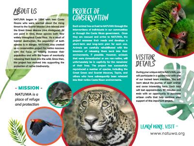 Natuwa Brochure non-profit natuwa brochure