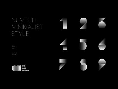 Number Graphic design