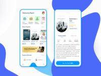 IOS Mobile Book APP Design Concept