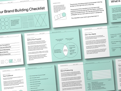 Your Brand Building Checklist checklist brand building checklist brand design