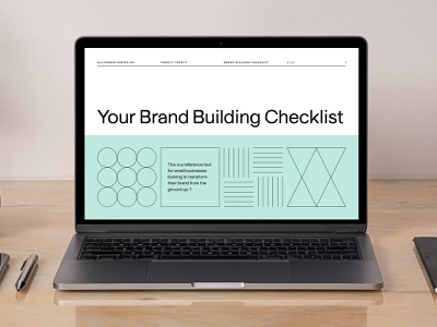 Your Brand Building Checklist alejandro design co brand building checklist checklist brand checklist brand