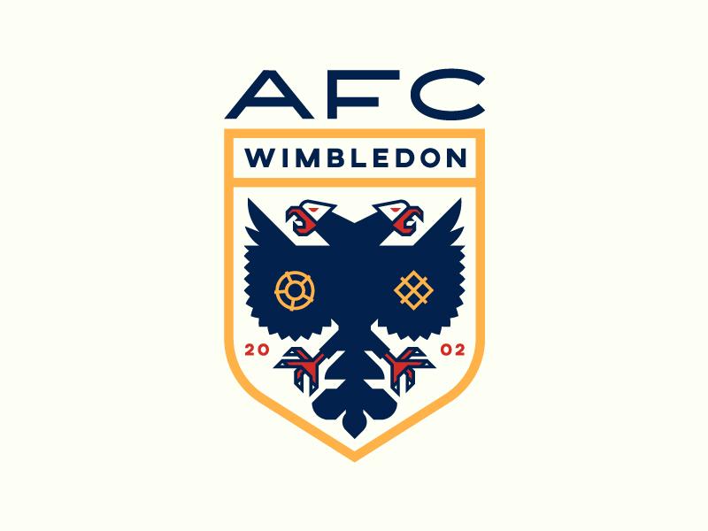 Afc wimbleton logo dribbble 08