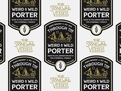 TtW&W Porter Beer Label