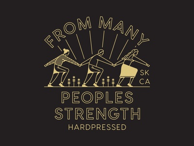 From Many Peoples Strength