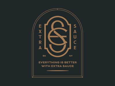 Extra Sauce - Monogram Lockup