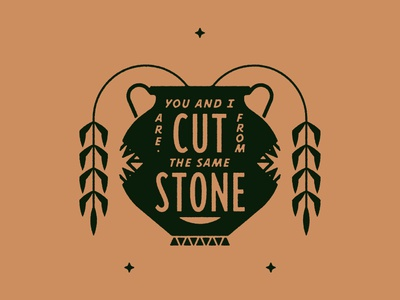 Cut from the same Stone