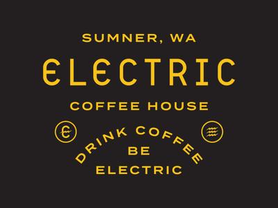 Electric Coffee House | Type Lockup