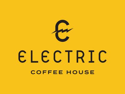 Electric Coffee House | Primary Logo Lockup
