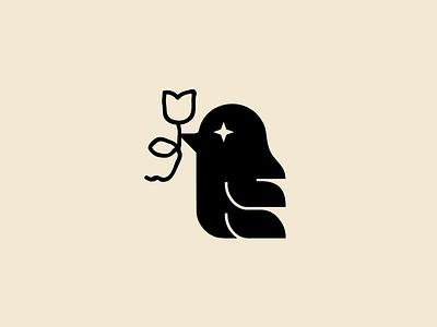 sintimiento identity flower bird icon flowers flower shop icon design branding animal symbol logo icon