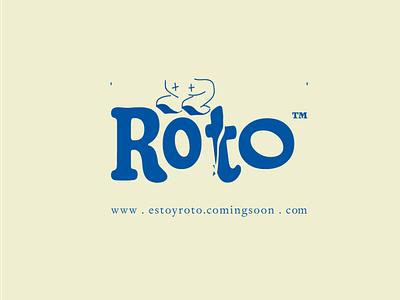 Roto type branding symbol icon logo