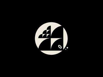 Part of a brand for some people that do good! modern vector animal logo geometric logo fish logo fish brand branding illustration geometry animal design icon design symbol logo icon