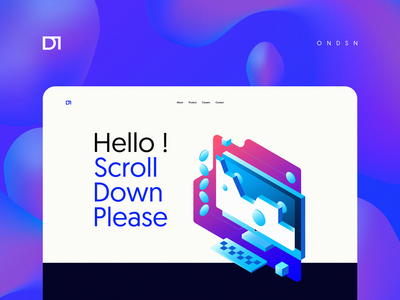 Hello ! explo. graphic design blockchain web design company gradient tech logo vector ondsn illustrations illustration digital crypto tech colorful playful isometric illustration product design nikola obradovic design webdesign ui branding