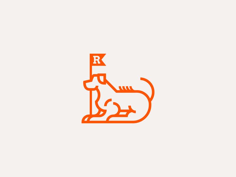 Lion Hound | Mata Leao bold linear graphic design illustration freelancer dog illustration product design branding logotype web design nikola obradovic design ondsn hound puppy dog badge mark logo rhodesian ridgeback
