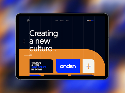 O N D S N | exp. typography product design ondsn 2020 2020 nikola obradovic design visual identity branding freelancer logo freelancer webpagedesign mobile art print art direction art creative direction ux ui tablet app web design