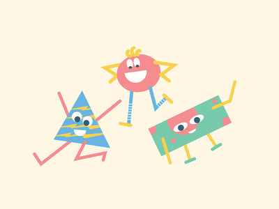 Buddies | Disc. illustration fun positive sweet cute branding mobile shape animation 2021 nikola obradovic design buddies monster shape colors product design app design web design graphic design character design character