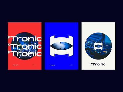 Tronic illustration product design print design nikola obradovic design bold modern dance typography logo 2021 logo ui branding graphic design freelancer marketing 2021 fortress digital festival music