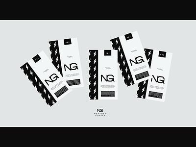 NXGN marketing visual identity typography print design graphic design logo 2021 logo vectors futuristic nikola obradovic design ondsn 2021 visual clean minimalistic simple branding food beverage coffee